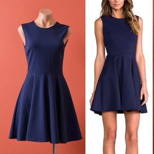 Diane von Furstenberg Jeannie Navy Blue Dress 2